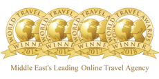 Middle East's Leading Online Travel Agency 2015-2016-2017-2018